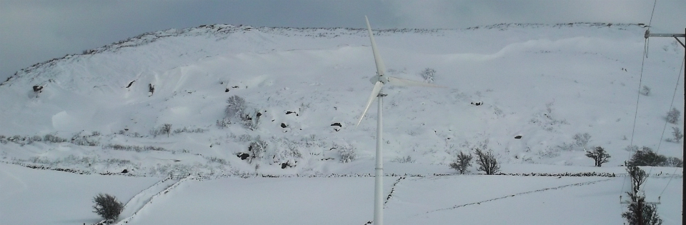 Wind Turbine Installed at Glens of Antrim